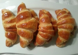 croissants finish